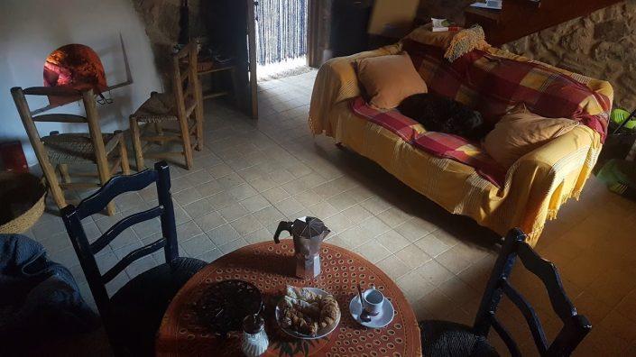 cafe de medio dia en casa rural en galicia