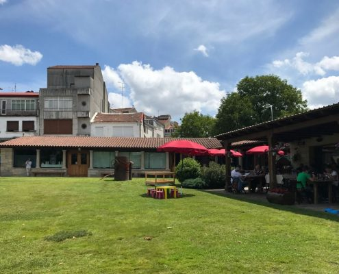 restaurante para huespedes de casa rustica en corveixe