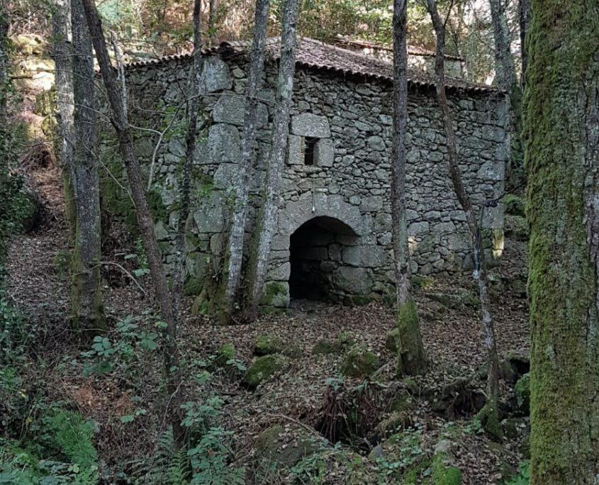 senderismo de casa rural con aldeas en galicia
