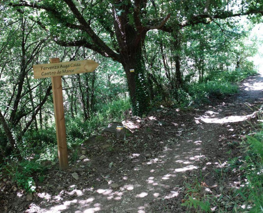 ruta de senderismo para casas rurales en galicia