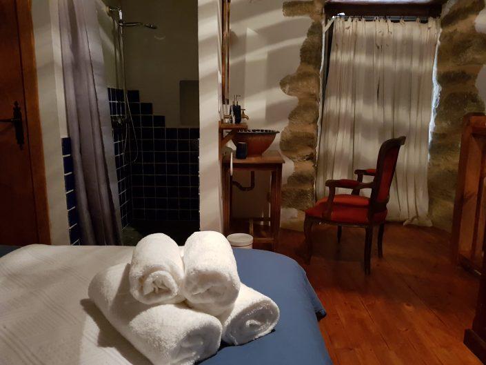 toallas incluidas en casa rural en galicia