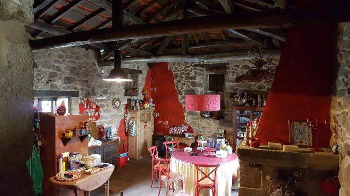 chimenea casa rustica en galicia