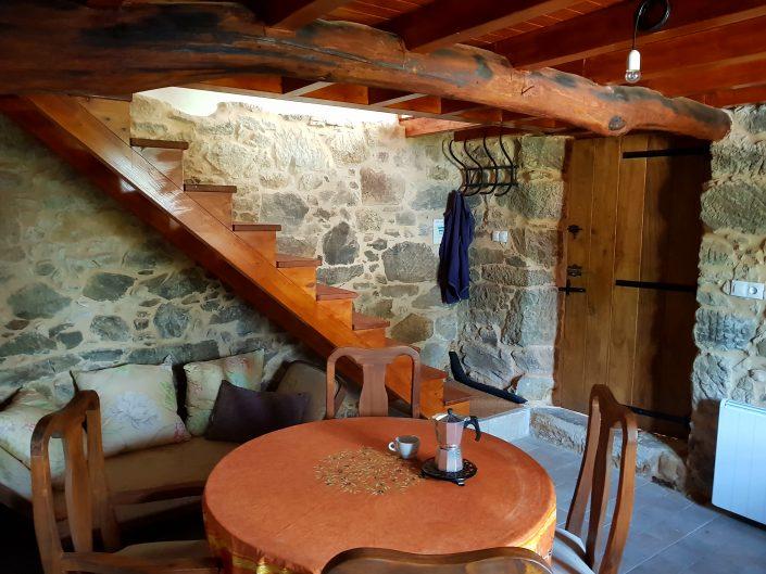 zona para estar juntos en casa rural galicia