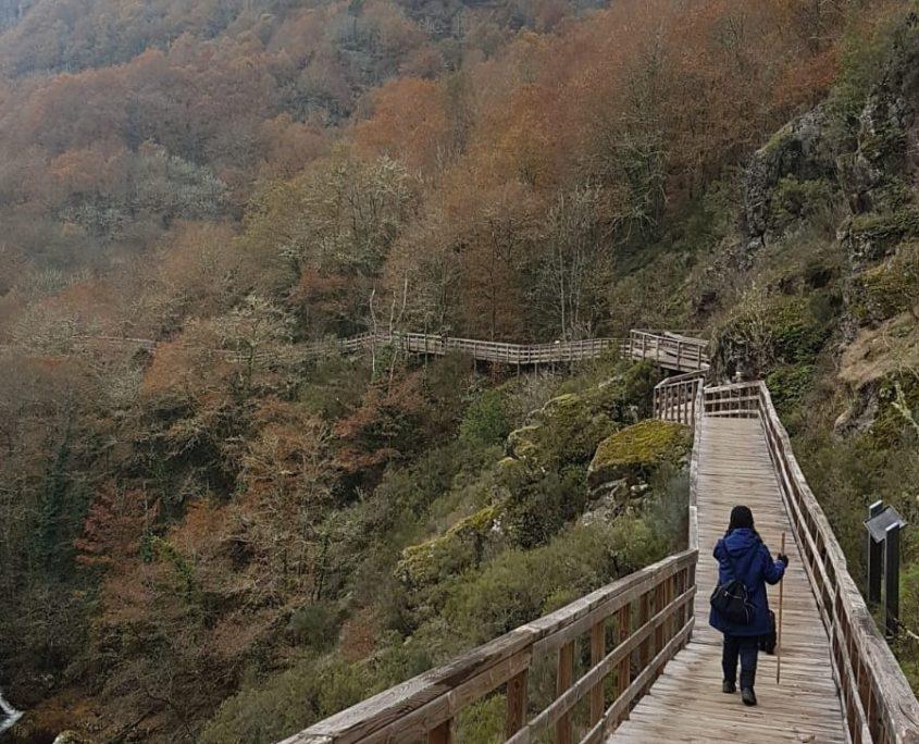 mirador del rio mao cerca de casas rurales en la ribeira sacra