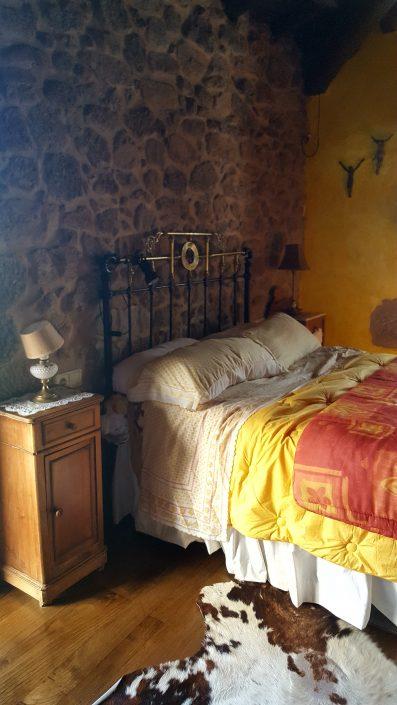 dormitorio casa rural galicia