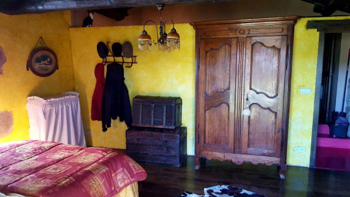 dormitorio para pareja en corveixe