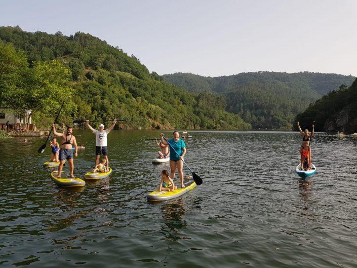 kayak disponible en nuestras casas rurales de la ribeira sacra