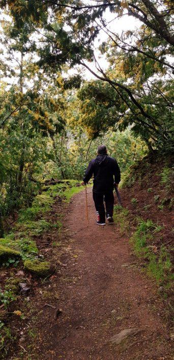 ruta de senderismo cerca de viviendas rurales de corveixe